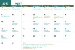 Artgrain Calendar