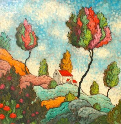 1c2366f394da11485ae42bd54f770295--tree-art-felt-pictures