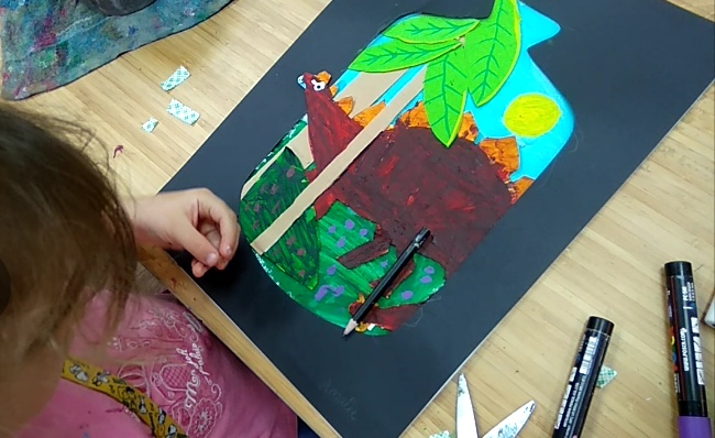Special Art Project: Relief Paper Art